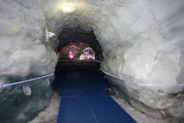 Glacier Palace Ice Tunnel and Sculpture, Matterhorn, Switzerland