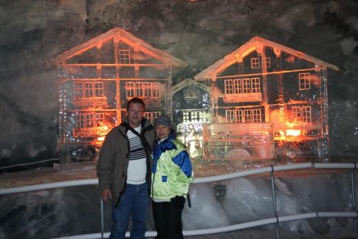 Glacier Palace Ice Sculpture, Matterhorn, Switzerland