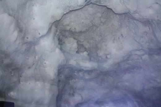 Glacier Palace Ice Crystals, Matterhorn, Switzerland