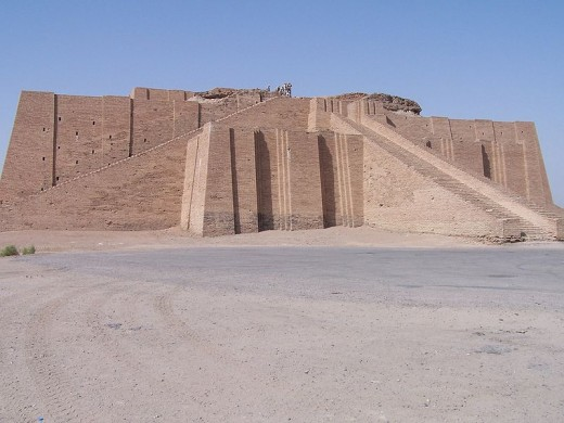 The Great Ziggurat of Ur-Nammu.  Unlike Rome's Coliseum, no comedians ever played here.