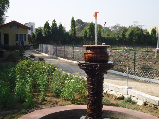 A tap without support-Energy Education park- Raipur,Chattisgarh