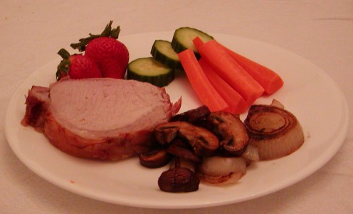 Boneless Pork Loin with Vegetables