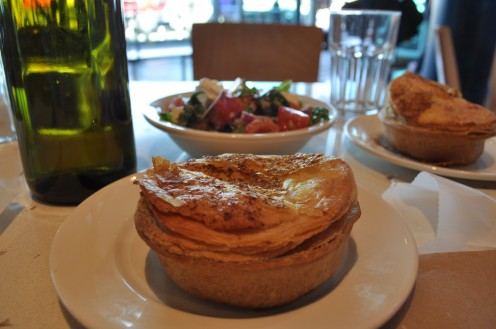 scallop pie
