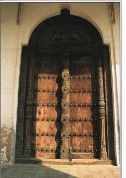 The Peace Memorial Museum in Zanzibar Town  has the oldest carved door in Zanzibar.