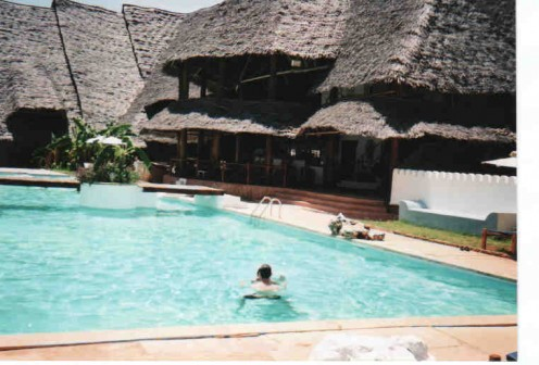 Mapenzi Beach Club Resort is highly recommended.