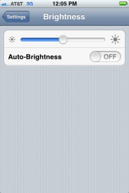 Lower your brightness settings.