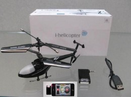 The i-Helicopter box and contents