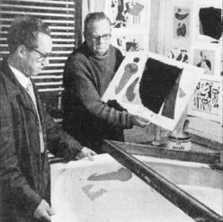 Luitpold Domberger and Willi Baumeister.