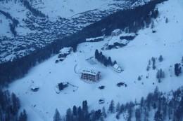 Alpine Panorama - view from Riffelberg Express Gondola, Wallis, Switzerland