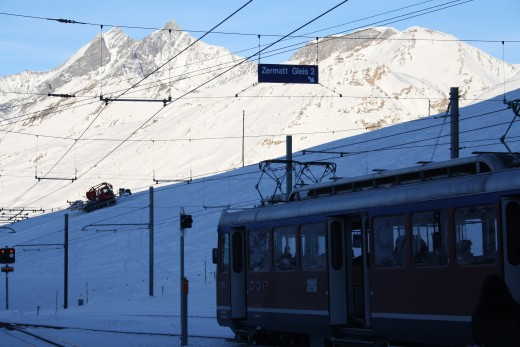 Gornergrat Train, Wallis, Switzerland