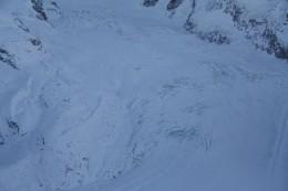 Alpine Panorama view from Riffelberg Express Gondola, Wallis, Switzerland