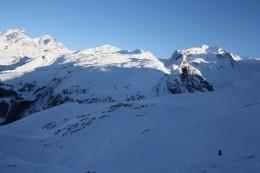 Alpine Panorama view from Gornergrat, Wallis, Switzerland