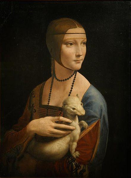 Cecilia Gallerani's portrait