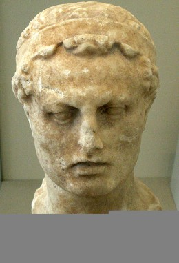 Bust of Antiochus IV Epiphanes