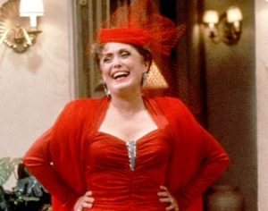 Blanche Devereaux claimed to be a quadragenarian when she was in her sixties.