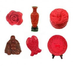 Cinnabar Beads Jewelry