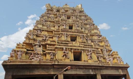 Nandi temple or Bull Temple, Dodda Ganeshana Gudi