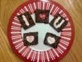 Decorating Brownies with Stencils (Video)