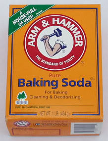 The old tried and true: Arm & Hammer Baking Soda