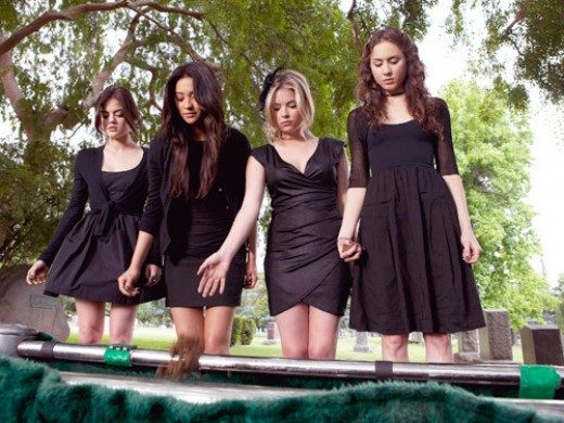 """Hale and company try to bury the past in """"Pretty Little Liars."""""""