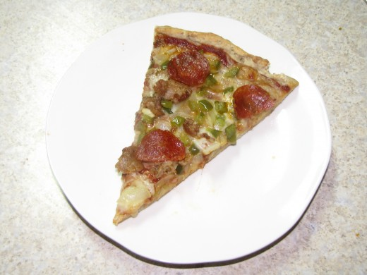 paleo pizza with coconut crust & cheese