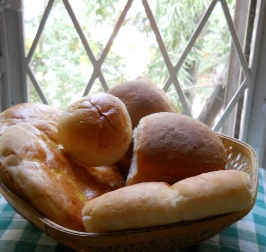 freshly baked every morning