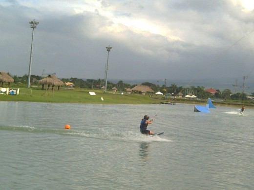 Wakeboarding @ CWC-Camarines Sur Watersports Complex (Photo by Travel Man)