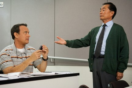 "Hanks gets into trouble in ""Larry Crowne."""