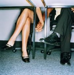 How would the one know if the other holds hands with someone else under the table?