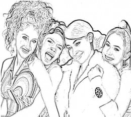 Coloring Pages  Girls on Free Coloring Sheets For Girls