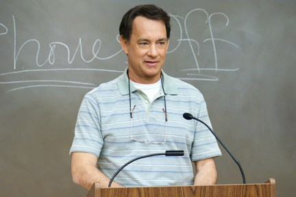 "Hanks moves to the head of the class in ""Larry Crowne."""