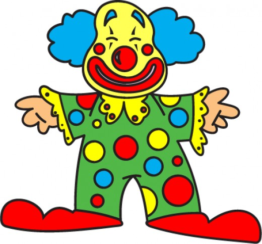 Since when did the friendly clown become something that people feared?