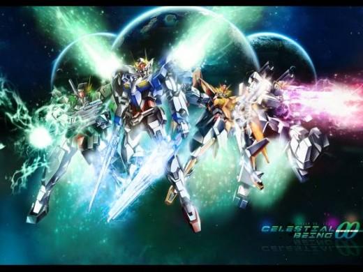 Mecha Animes - Gundam 00