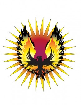 The mythical BenBen bird the Phoenix