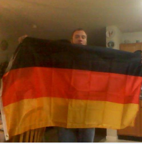 The German flag I got for free using the Amazon gift card