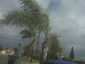 Tropical storms and hurricanes are prevalent during the rainy season.