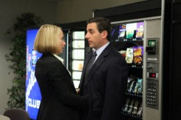 Amy Ryan and Steve Carell