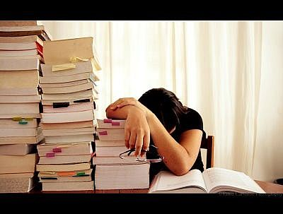 Too much homework. Its better that I should take a nap!!!!!