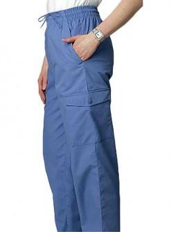 Adar Unisex Medical Scrub Seven Pockets Cargo Pants