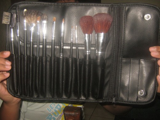 If you get the chance, it would be great to invest on a set of brushes to  do your over-all make-up!