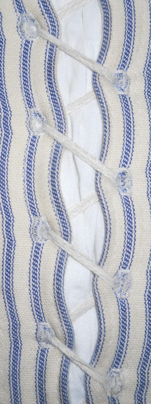 Spiral lacing