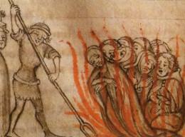 A Templar Vanguishing The Unbelievers