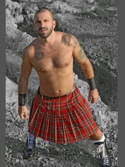 What are the rules for men wearing Kilts?