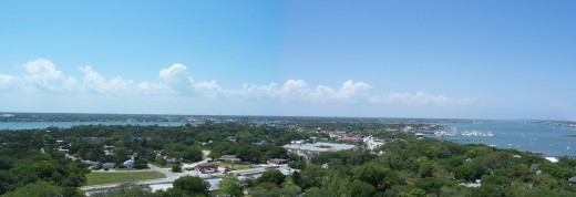 View from the St. Augustine Lighthouse