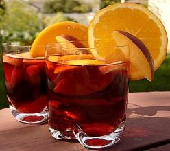 Best Sangria Recipe Fruit, Red or White Wine, Liqueurs, Herbs