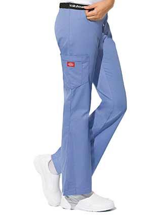 Dickies Hip Flip Junior Fit Cargo Medical Scrub Pants - DI-853202