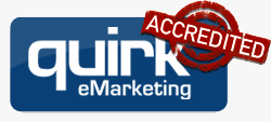 I am a Quirk Accredited eMarketing specialist