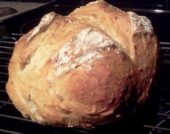 Home Baked Artisan Bread, Step-by-Step