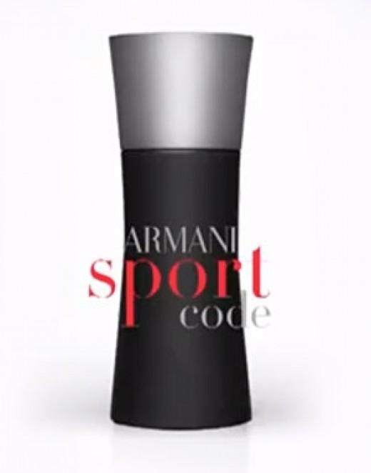 8: Armani Code Sport by Giorgio Armani