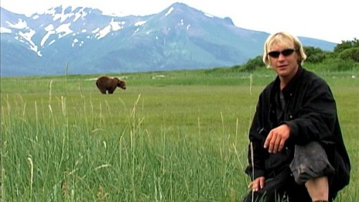 "Timothy Treadwell is ""Grizzly Man."""